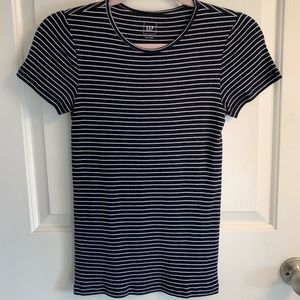 FREE with purchase. GAP fitted stripes T-shirt